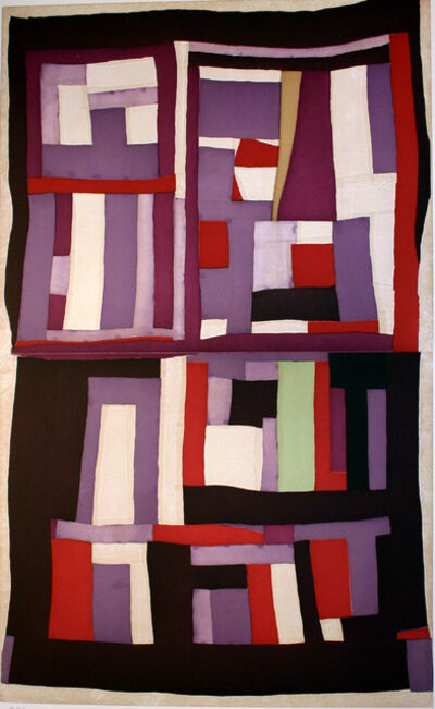 Mary Lee Bendolph (Gee's Bend), 'THREE SQUARES', 2005