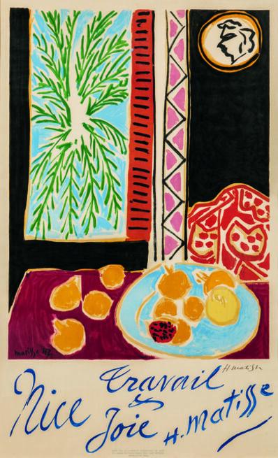 After Henri Matisse, 'Nice Travail et Joie', 1948