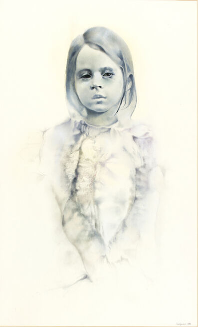 Renzo Vespignani, 'Portrait of Little Girl', 1974