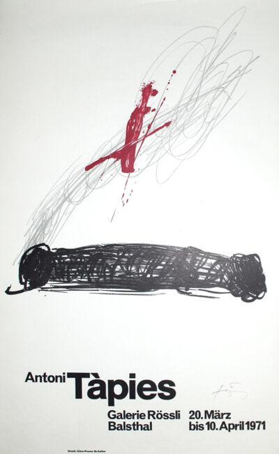 Antoni Tàpies, 'untitled', 1970
