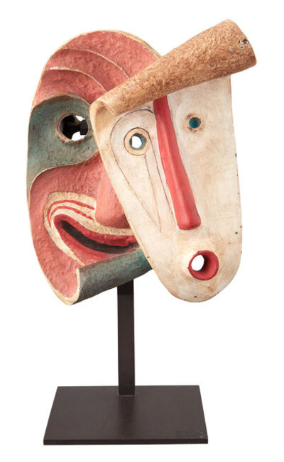 Jean Lambert Rucki, 'Double Mask'