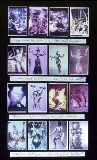 Carolee Schneemann, 'Unexpectedly Research', 1992