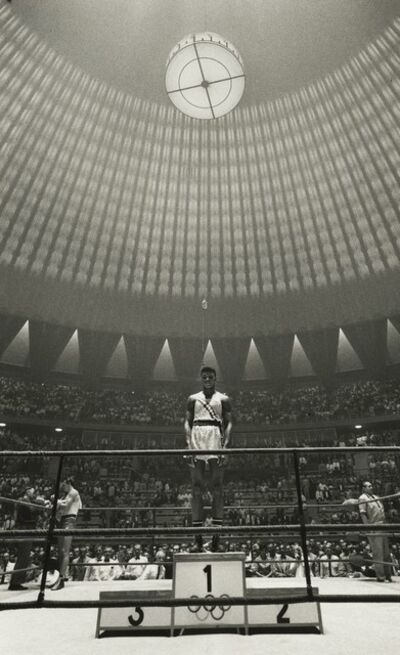 Marvin E. Newman, 'Cassius Clay (Muhammad Ali), Olympic Boxing Gold Medal Winner, Rome', 1960
