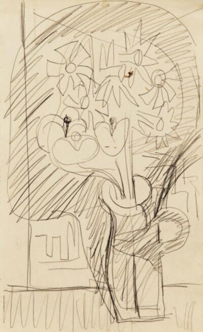 Ernst Ludwig Kirchner, 'Blumenstillleben (Osterglocken in einem Henkelkrug)', ca. 1935