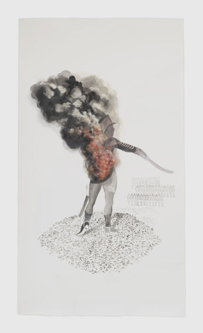 Firelei Báez, 'a relentless spirit', 2016