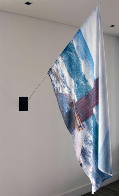 Santiago Velez, 'Puertas al mar - Florida, Flag', 2017