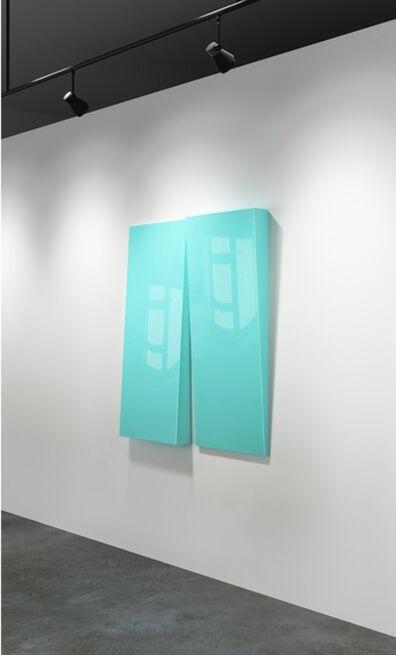 Lori Cozen-Geller, 'Attitude (Blue)', 2020