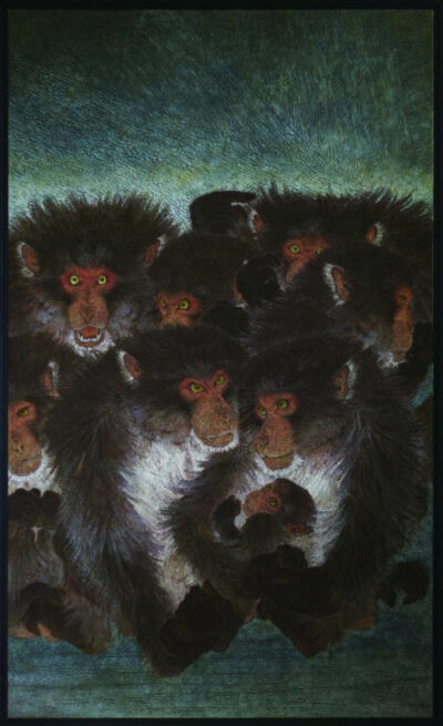 Nakano Daisuke, 'Monkey, ' Persevere '(Ten Aspects series)', 2010