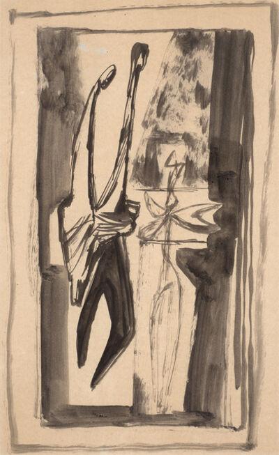 Jankel Adler, 'Study for Tremblinka', 1948