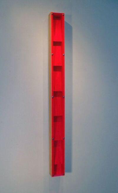 Tom Hollenback, 'Pink Light Flume Steps', 2012