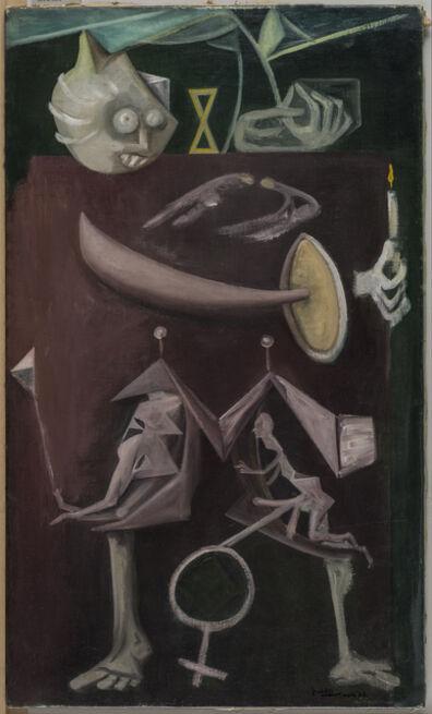 Wilhelm Freddie, 'Min søster I mars og Venus' tegn (My Sister in March and the Attributes of Venus)', 1948