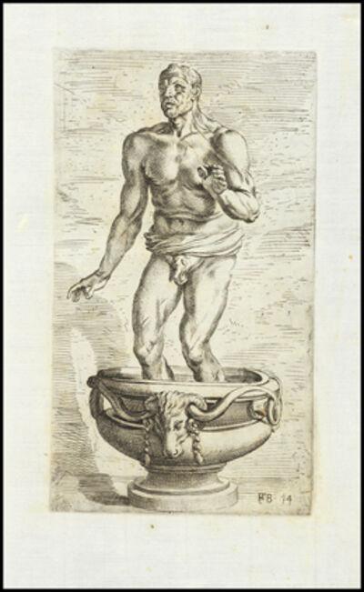 François Perrier, 'Seneca moriens ex lapide indice', 1638