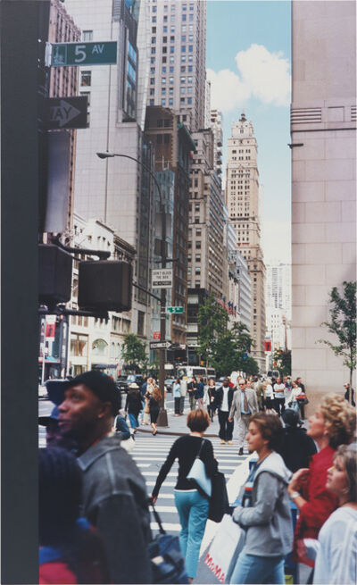 Ian Wallace, 'New York City I', 2001