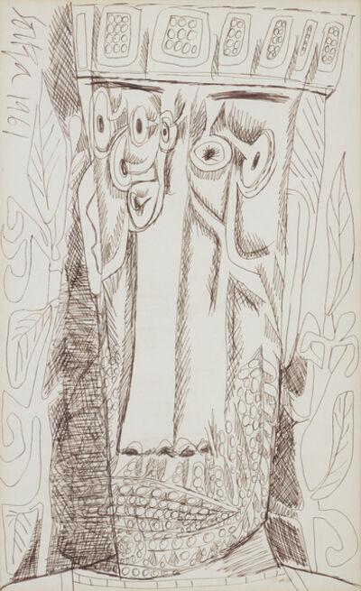 Francis Newton Souza, 'Untitled (Emperor)', 1961