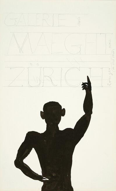Alexander Calder, 'Etude pour la Galerie Maeght, Zurich', 1975