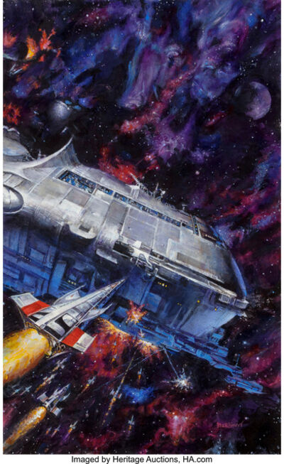 Doug Beekman, 'Imperial Stars - The Stars at War, book cover'