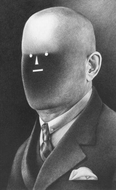 Raymond Lemstra, 'Man with dot-eyes', 2018