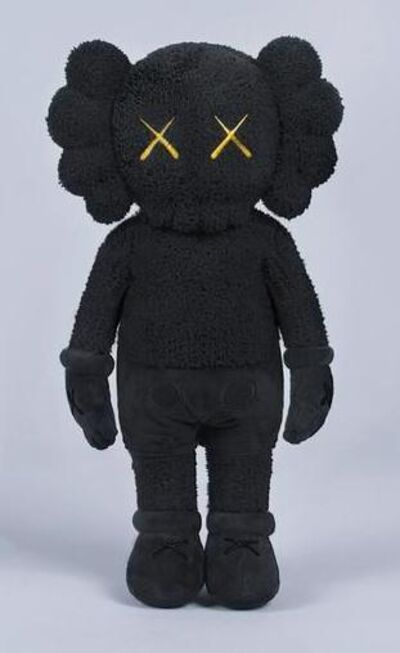 KAWS, 'HOLIDAY HONG KONG COMPANION PLUSH (BLACK)', 2019