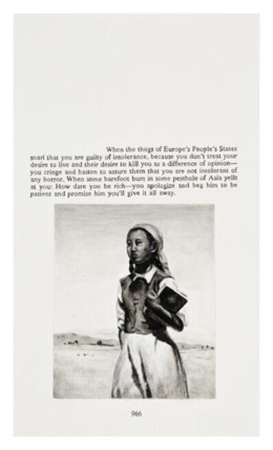 Yevgeniy Fiks, 'Ayn Rand in Illustrations (Atlas Shrugged, page 966)', 2010