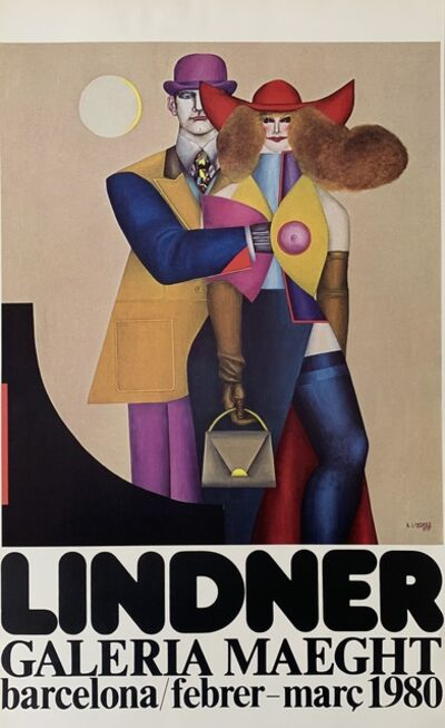Richard Lindner, 'Galerie Maeght Exhibition Poster', 1980