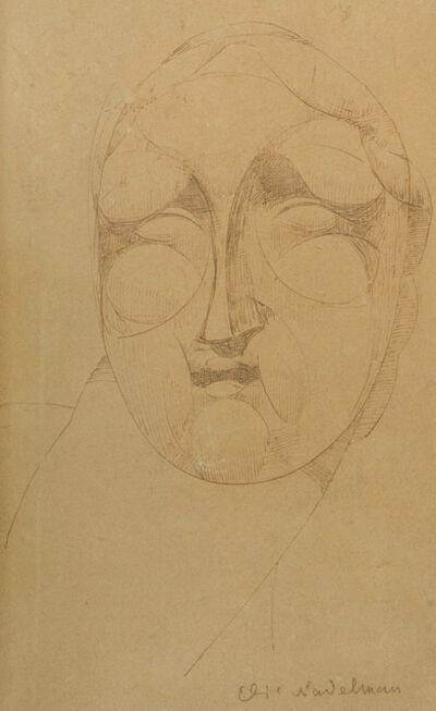 Elie Nadelman, 'Cubist Head'