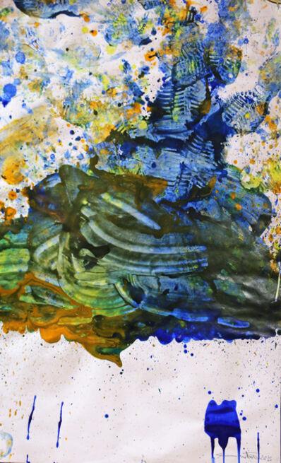 Hermann Nitsch, 'Work on paper', 2015