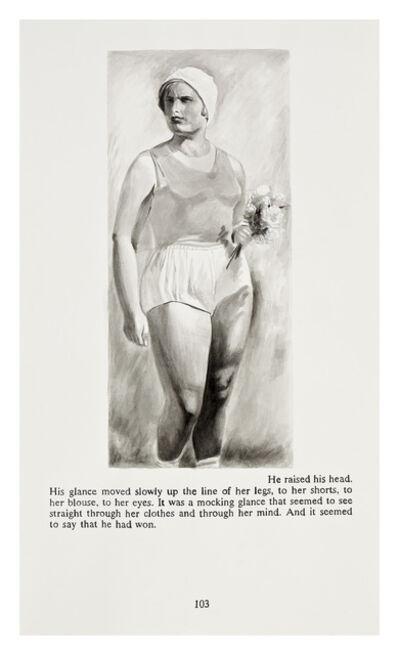 Yevgeniy Fiks, 'Ayn Rand in Illustrations (Atlas Shrugged, page 103)', 2010