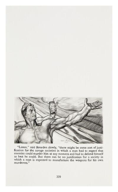 Yevgeniy Fiks, 'Ayn Rand in Illustrations (Atlas Shrugged, page 339)', 2010