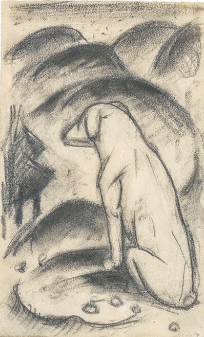 Franz Marc, 'Dog in front of the world', 1911/12