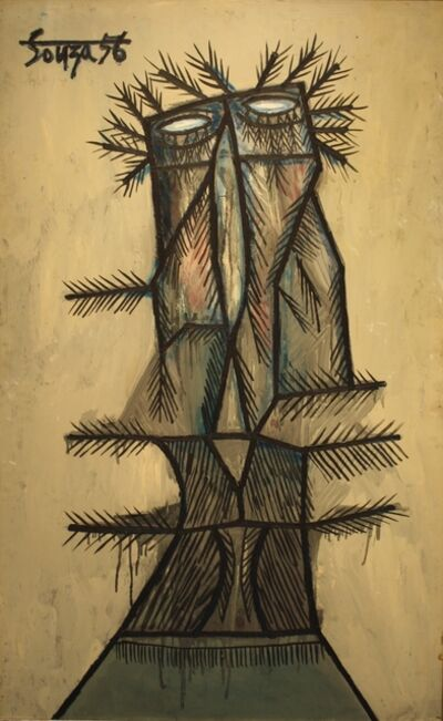Francis Newton Souza, 'Christ on Palm Sunday', 1956