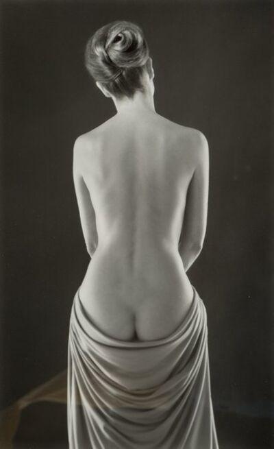 Ruth Bernhard, 'Draped Torso', 1962-printed later
