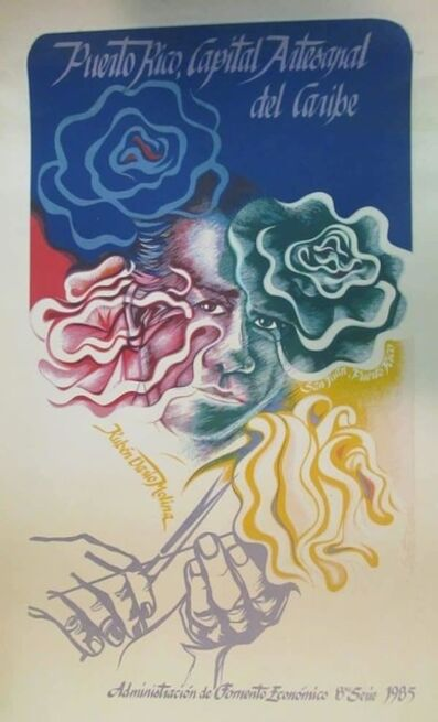Lizetter Rosado, 'Puerto Rico Capital Artesanal', 1985