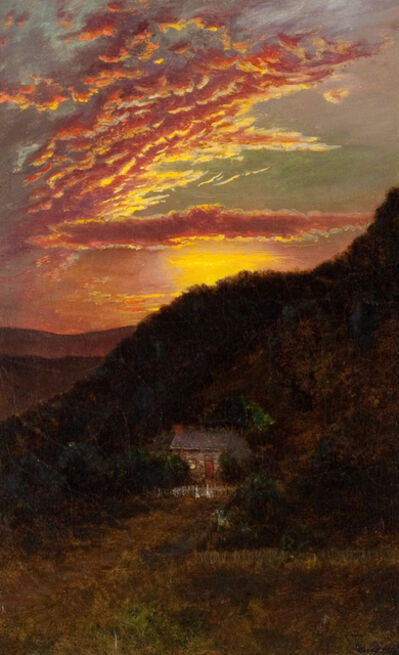 Ralph Albert Blakelock, 'Sunset', Late 19th century