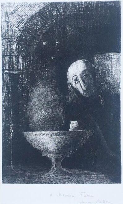 Odilon Redon, 'Et le chercheur était a la recherche infinie', 1886