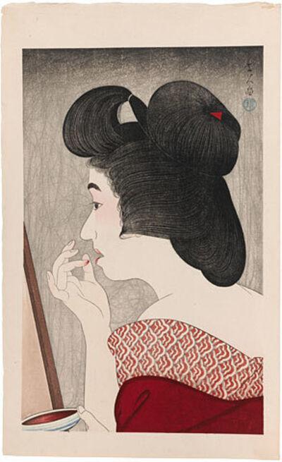 Kotondo Torii, 'Lip Rouge', 1932