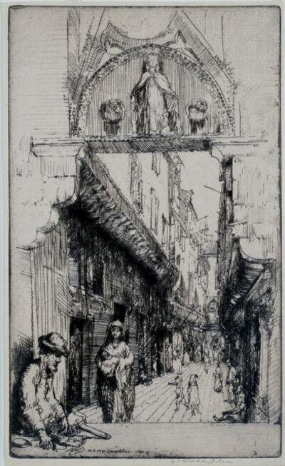 Donald Shaw MacLaughlan, 'Calle del Paradiso, Venice', 1909