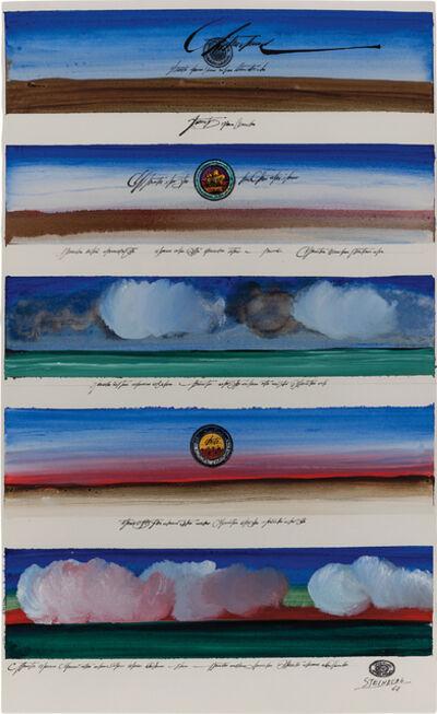 Saul Steinberg, 'Certified Landscapes', 1968
