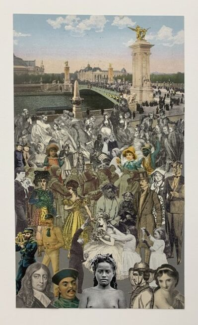 Peter Blake, 'Paris - 'Crowd', 2009