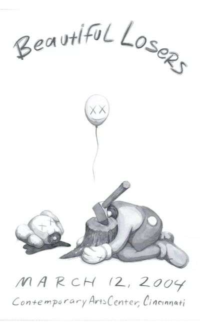 KAWS, 'Beautiful Losers', 2004