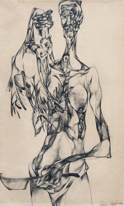 Bikash Bhattacharjee, 'Untitled', 1965
