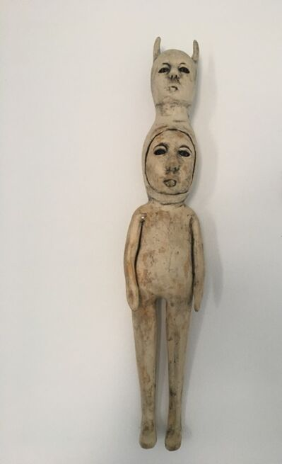 Ashley Benton, 'Ceramic wall hanging sculpture: 'I've been carrying this a long time'', 2020