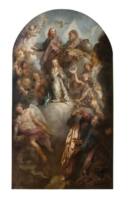 Charles de La Fosse, 'La consécration de la Vierge (The Consecration of the Virgin)', c. 1703