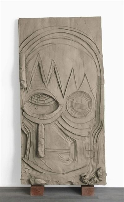 Thomas Houseago, 'Yet to be Titled (Face Panel)'