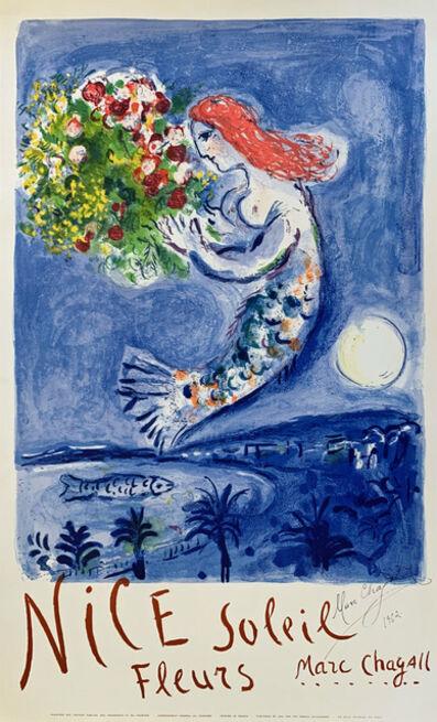 Marc Chagall, 'La Baie des Anges (Nice Soleil Fleurs)', 1962