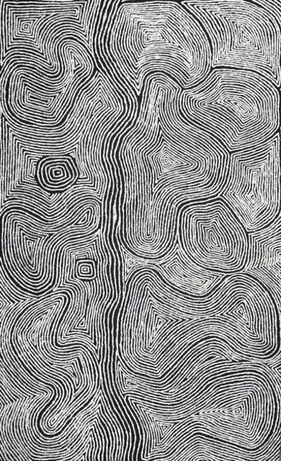 Warlimpirrnga Tjapaltjarri, 'Untitled - Men's Story', 2018