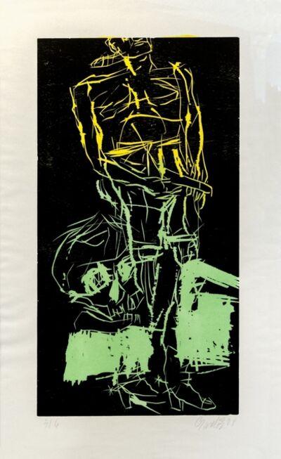 Georg Baselitz, 'Big Night VI (Remix)', 2008-2010