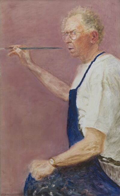 Avigdor Arikha, 'Self-Portrait', 2007