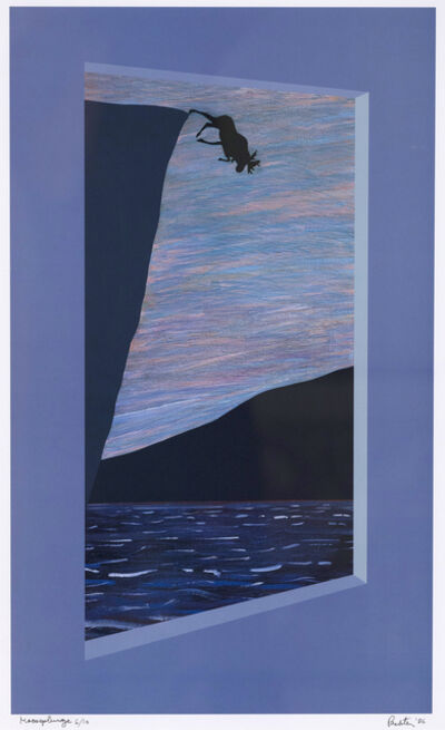 Charles Pachter, 'Moose Plunge ', 1986