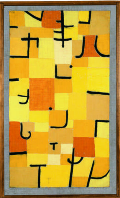 Paul Klee, 'Zeichen in Gelb (Signs in Yellow)', 1937