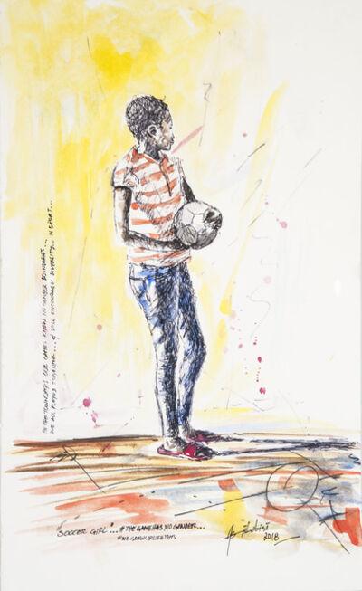 Semi Lubisi, 'Soccer Girl', 2019